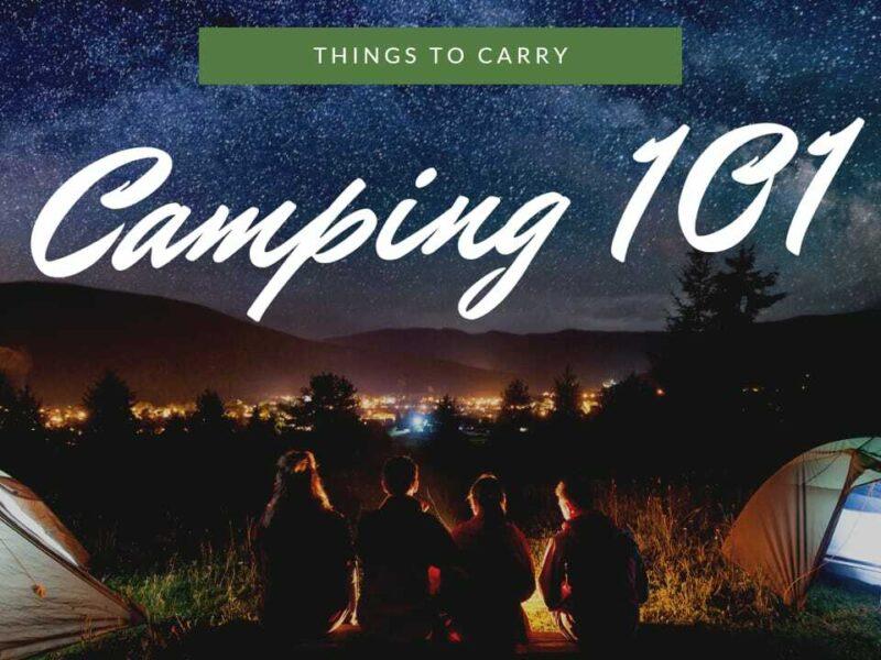 camping 101
