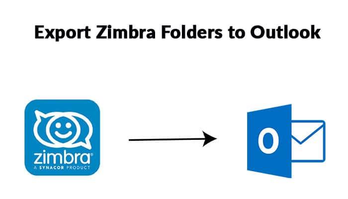 Export Zimbra Folders to Outlook
